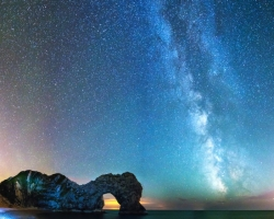 Durdle Door Star Light