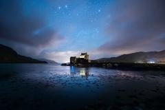 Eilean Donan Night Sky