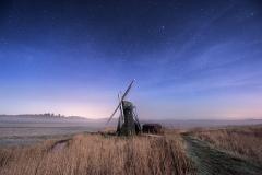 Herringfleet Mill Nightscape