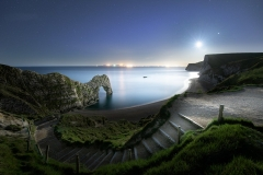 Durdle Door Moonlight