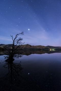 Jupiter Derwent Water Night Sky