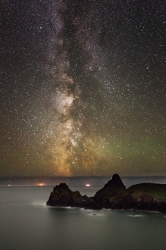 Kynance Cove Milky Way