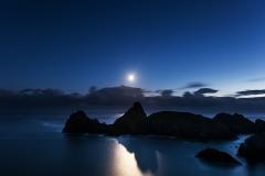 Kynance Cove Moonlight