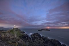 Llanddwyn Island Lighthouse Moonlight