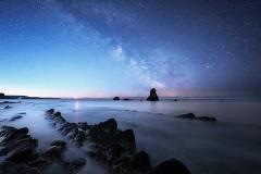 Mupe Bay Milky Way, Dorset
