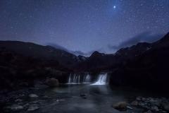 The Fairy Pools Night Sky