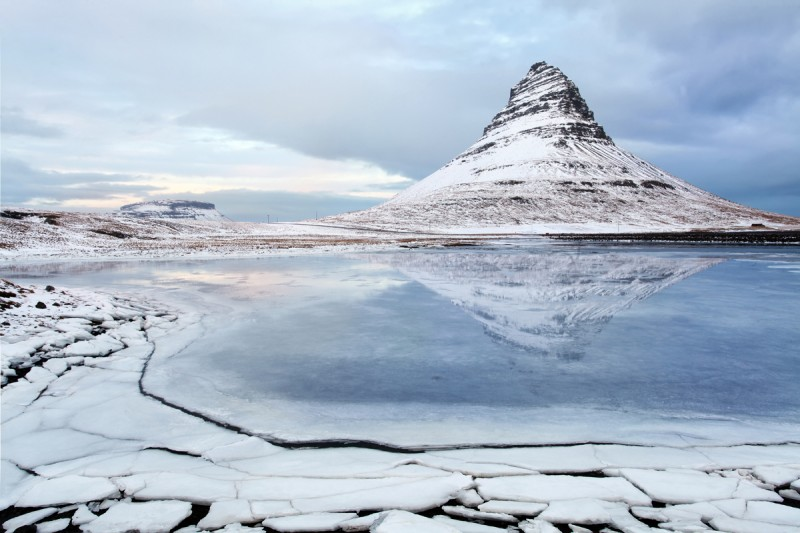 "Mount Kirkjufell ""The Witches Hat"""