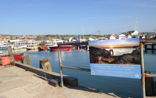 Art trail and exhibition at West Bay