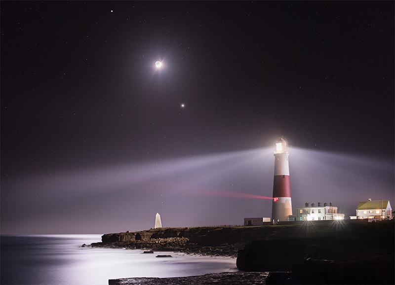 Portland Bill Lighthouse Night