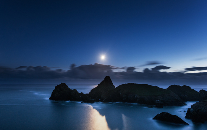 Kynance Cove Moonlight